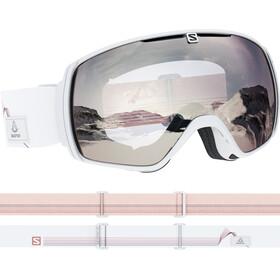 Salomon XT One Gafas de esquí, white/super white